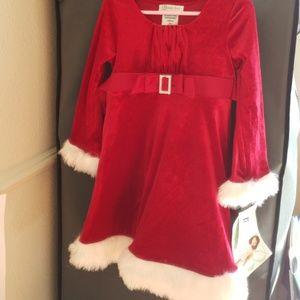 Girl's Santa Dress